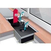 Системные конвекторы GSK 320  (длина от 1000 мм до 5000 мм) с принудительной конвекцией (радиальный вентилятор)