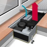 Конвекторы QSK EC 320 (естественная или принудительная конвекция, с тангенциальным вентилятором)