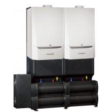 Конденсационные газовые котлы EVODENS PRO AMC 45-115 в каскаде