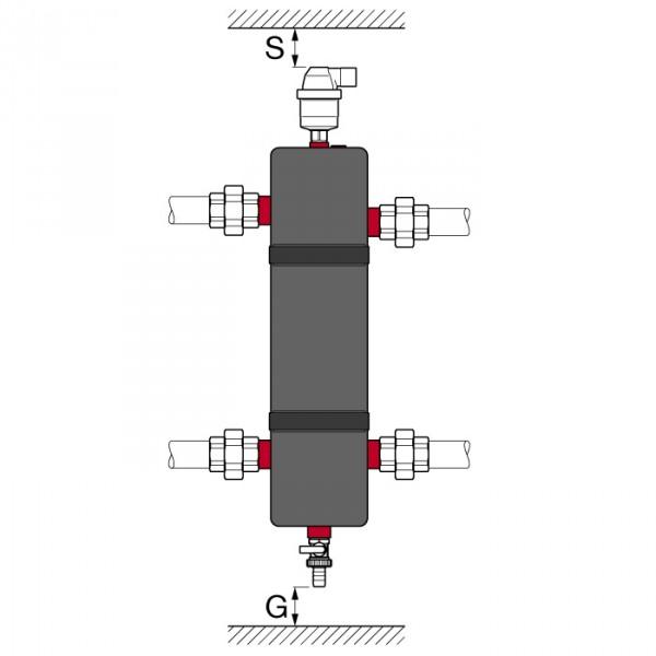 Гидравлическая стрелка купить Flexbalance EcoPlus C 1 Flamco