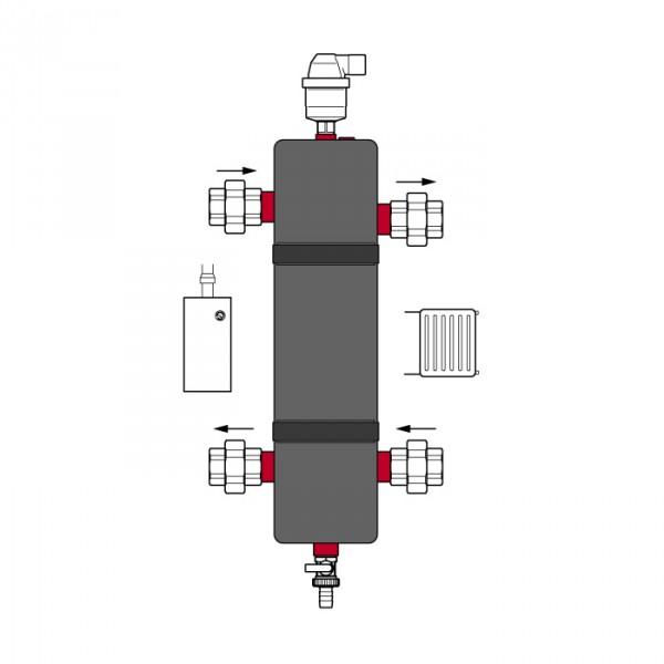 Гидравлический стабилизатор Flexbalance EcoPlus C 1 Flamco