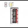 Бак-накопитель Flamco PR-T для горячей и холодной воды